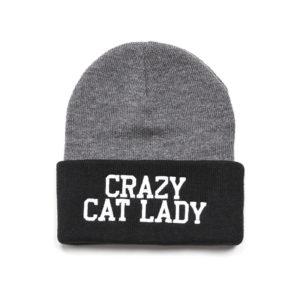 crazy cat lady beanie